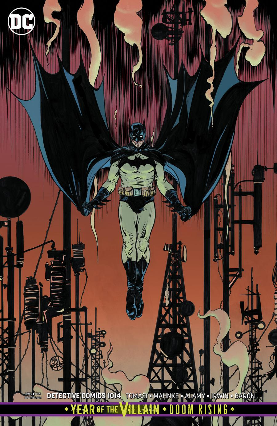 Detective Comics Vol 2 #1014 Cover B Variant Paul Pope Card Stock Cover (Year Of The Villain Doom Rising Tie-In)
