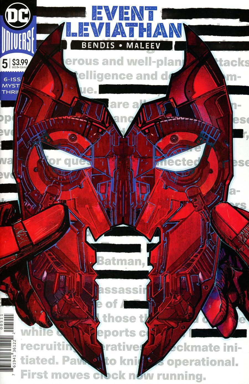 Event Leviathan #5 Cover A Regular Alex Maleev Cover