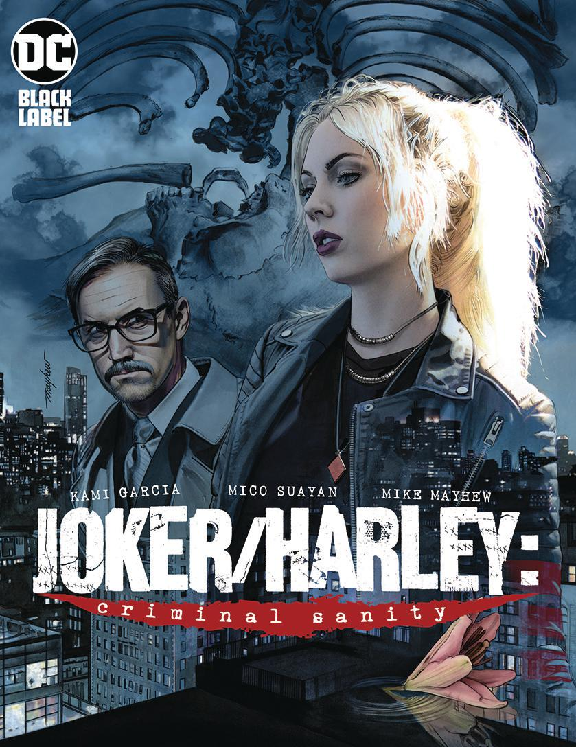 Joker Harley Criminal Sanity #1 Cover B Variant Mike Mayhew Cover