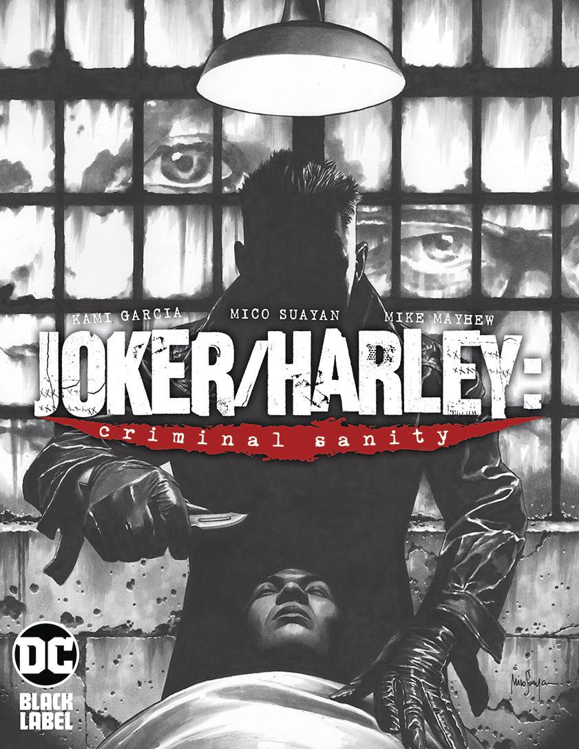 Joker Harley Criminal Sanity #1 Cover C Variant Mico Suayan Cover