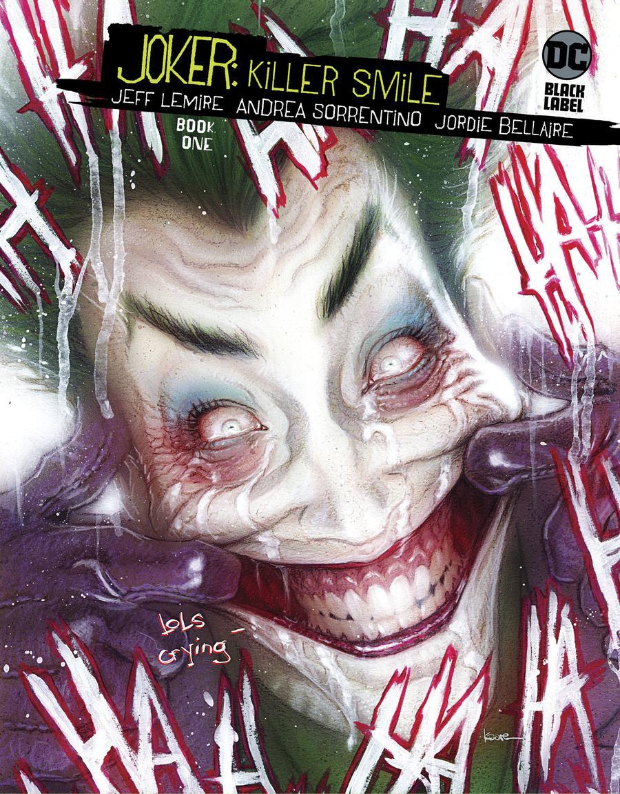 Joker Killer Smile #1 Cover B Variant Kaare Andrews Cover