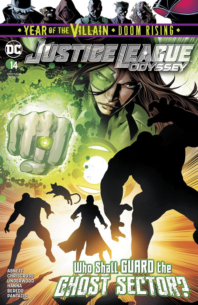 Justice League Odyssey #14 Cover A Regular Will Conrad Cover (Year Of The Villain Doom Rising Tie-In)
