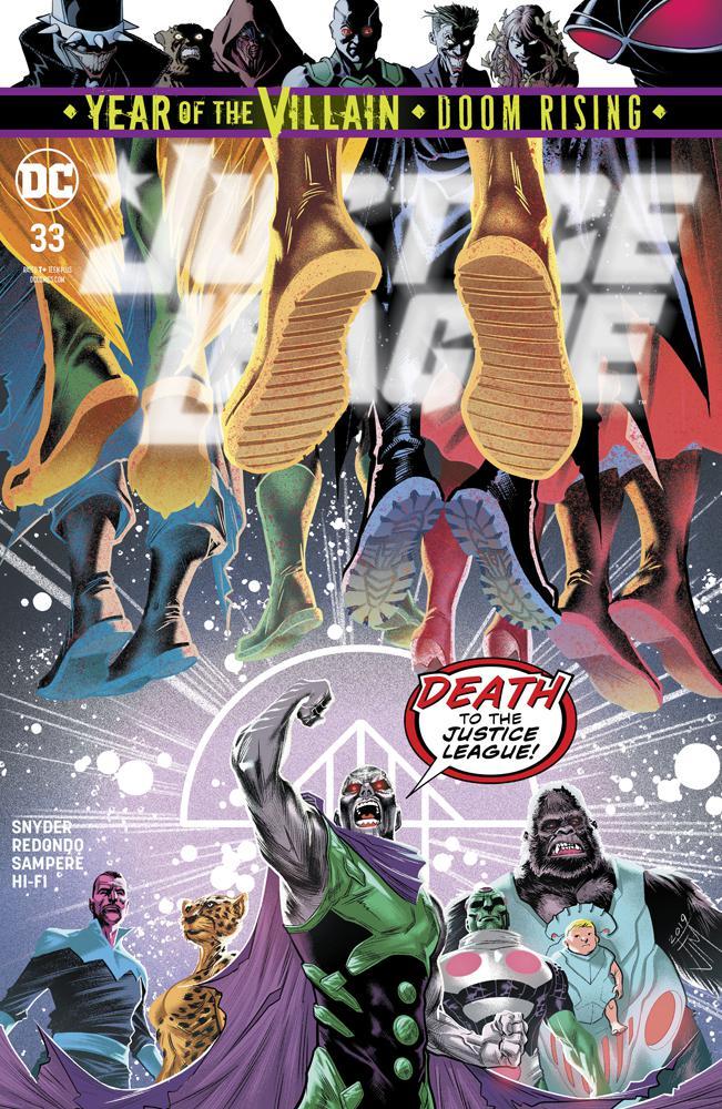 Justice League Vol 4 #33 Cover A Regular Francis Manapul Cover
