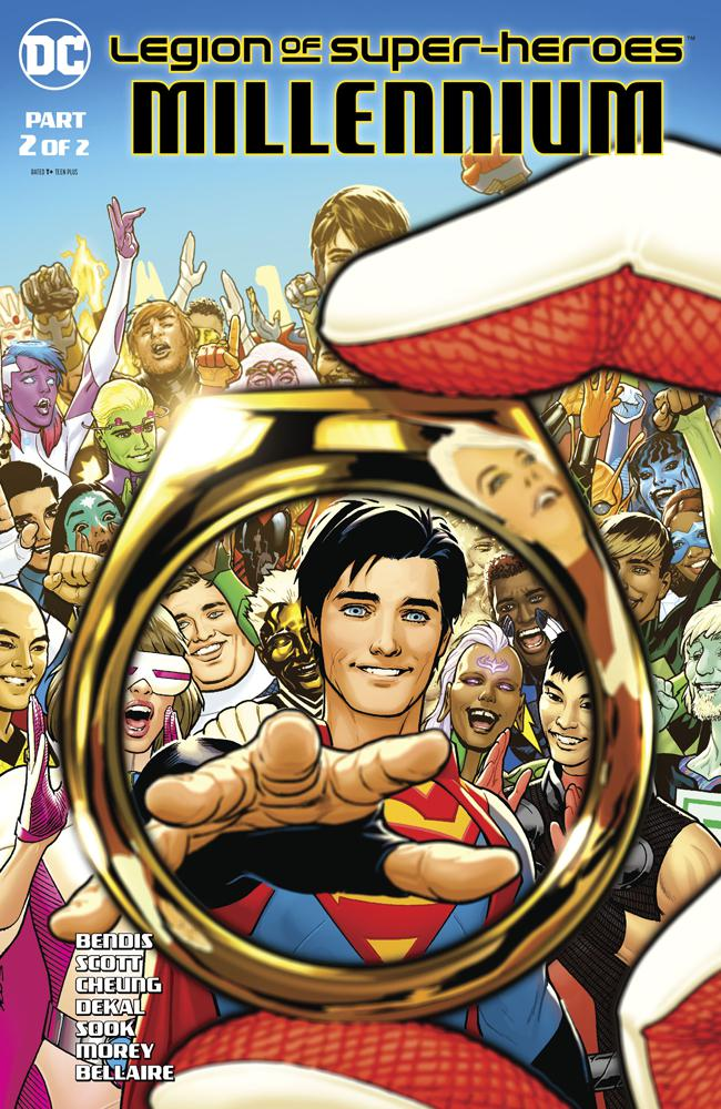Legion Of Super-Heroes Millennium #2 Cover A Regular Ryan Sook Cover