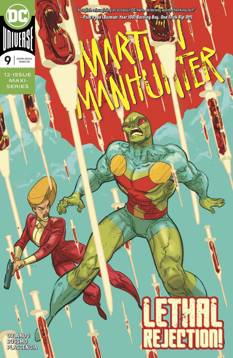 Martian Manhunter Vol 5 #9 Cover A Regular Riley Rossmo Cover