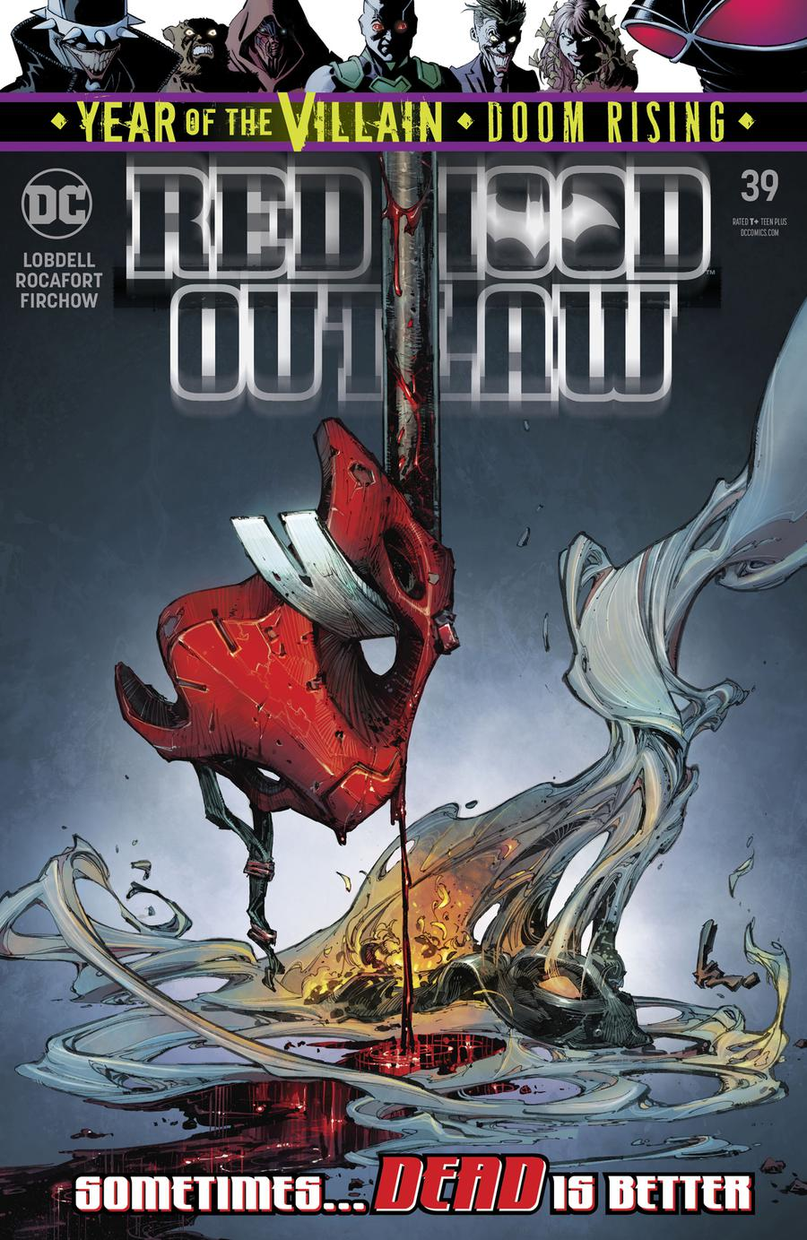 Red Hood Outlaw #39 Cover A Regular Kenneth Rocafort Cover (Year Of The Villain Doom Rising Tie-In)