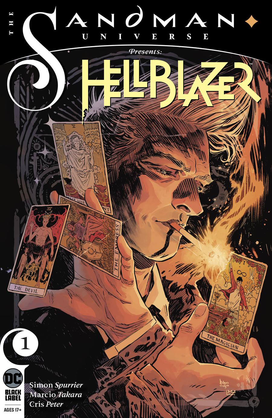 Sandman Universe Presents Hellblazer #1 Cover A Regular Bilquis Evely Cover