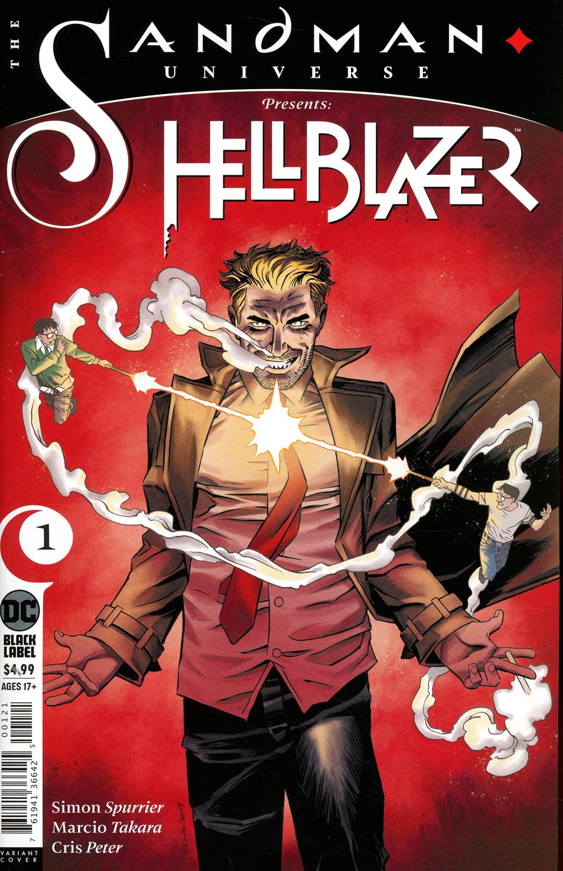 Sandman Universe Presents Hellblazer #1 Cover B Variant Declan Shalvey Cover