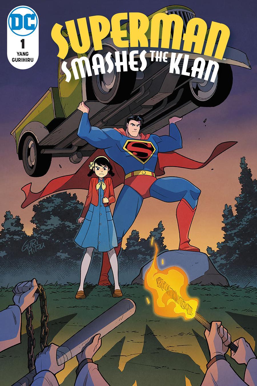 Superman Smashes The Klan #1 Cover A Regular Gurihiru Cover
