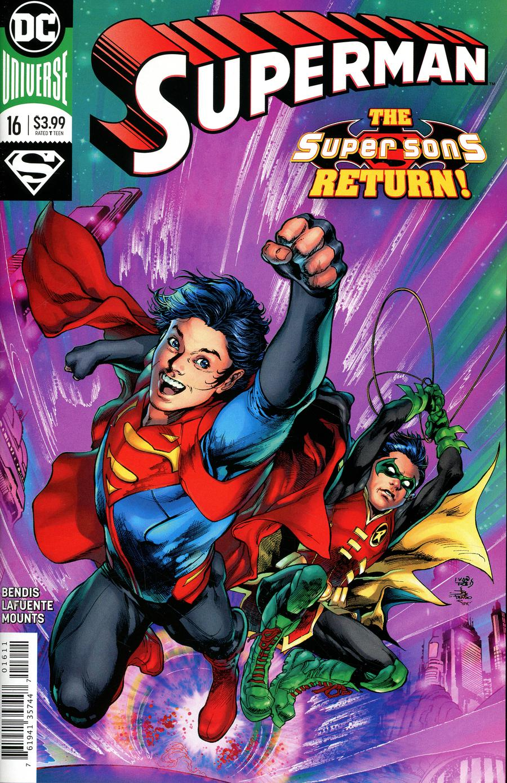 Superman Vol 6 #16 Cover A Regular Ivan Reis & Joe Prado Cover (Year Of The Villain Doom Rising Tie-In)