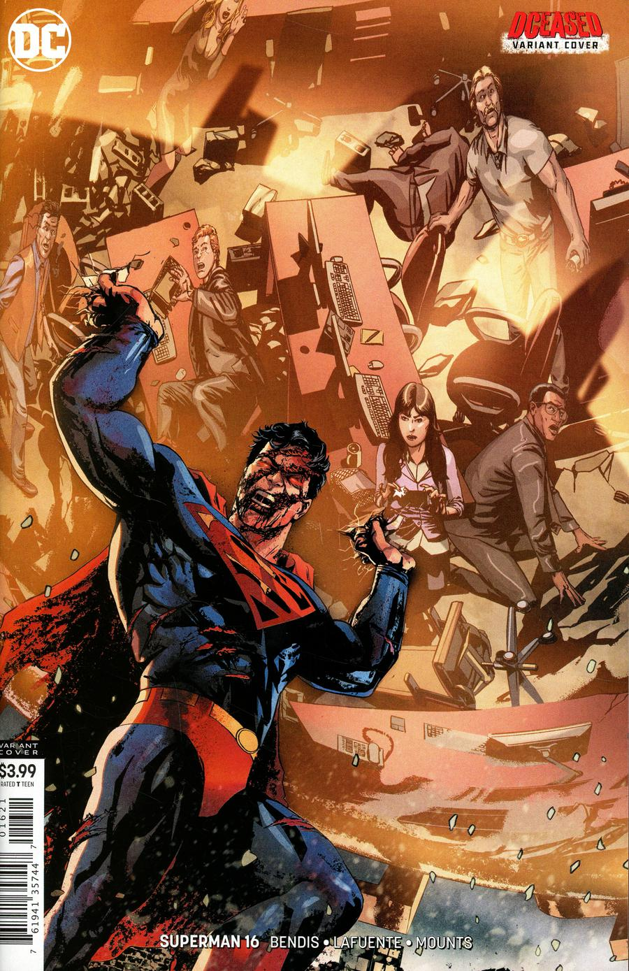 Superman Vol 6 #16 Cover B Variant Jason Masters DCeased Cover (Year Of The Villain Doom Rising Tie-In)