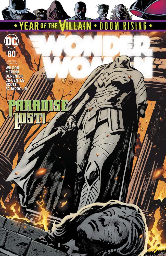 Wonder Woman Vol 5 #80 Cover A Regular Yanick Paquette Cover