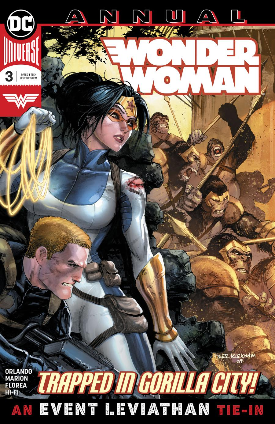 Wonder Woman Vol 5 Annual #3 (Event Leviathan Tie-In)
