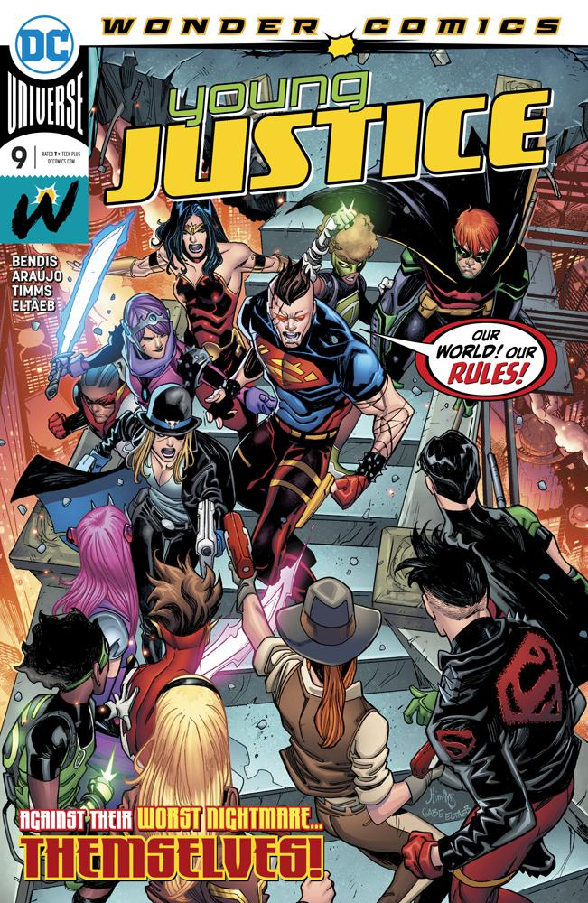Young Justice Vol 3 #9 Cover A Regular John Timms Cover