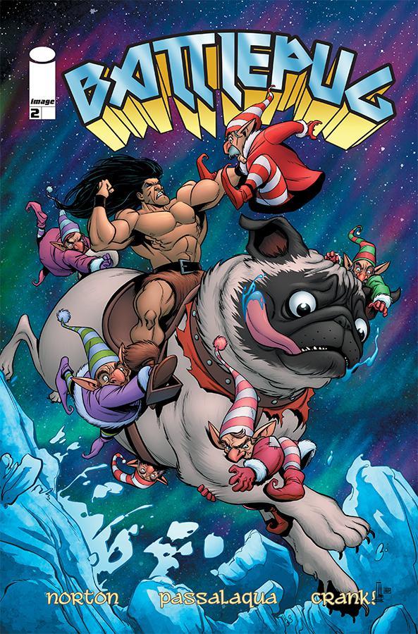 Battlepug #2 Cover A Regular Mike Norton & Allen Passalaqua Cover