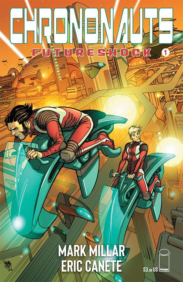 Chrononauts Futureshock #1 Cover A Regular Pasqual Ferry Color Cover