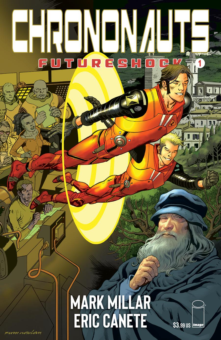 Chrononauts Futureshock #1 Cover E Variant Kevin Nowlan Cover