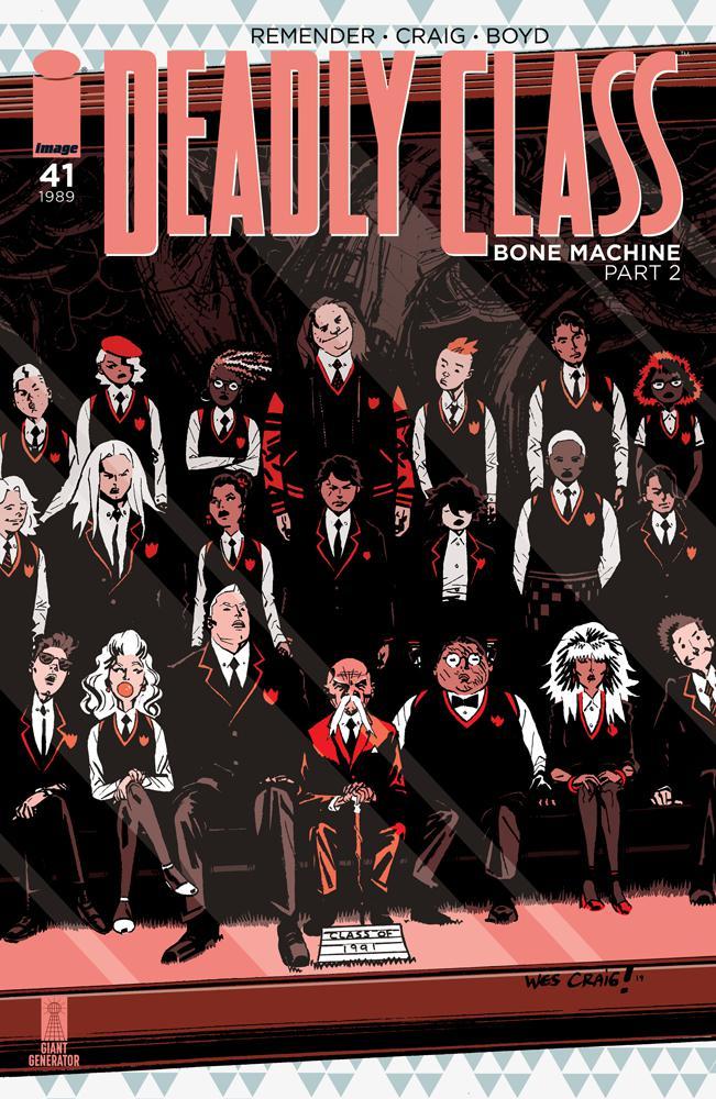 Deadly Class #41 Cover A Regular Wes Craig Cover