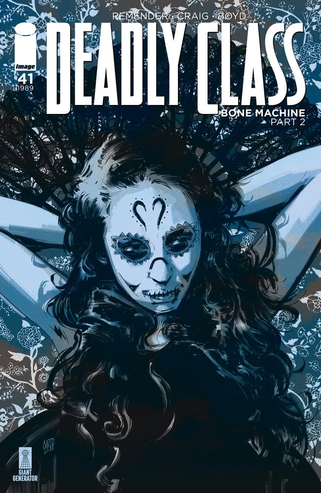 Deadly Class #41 Cover B Variant Antonio Fuso Cover