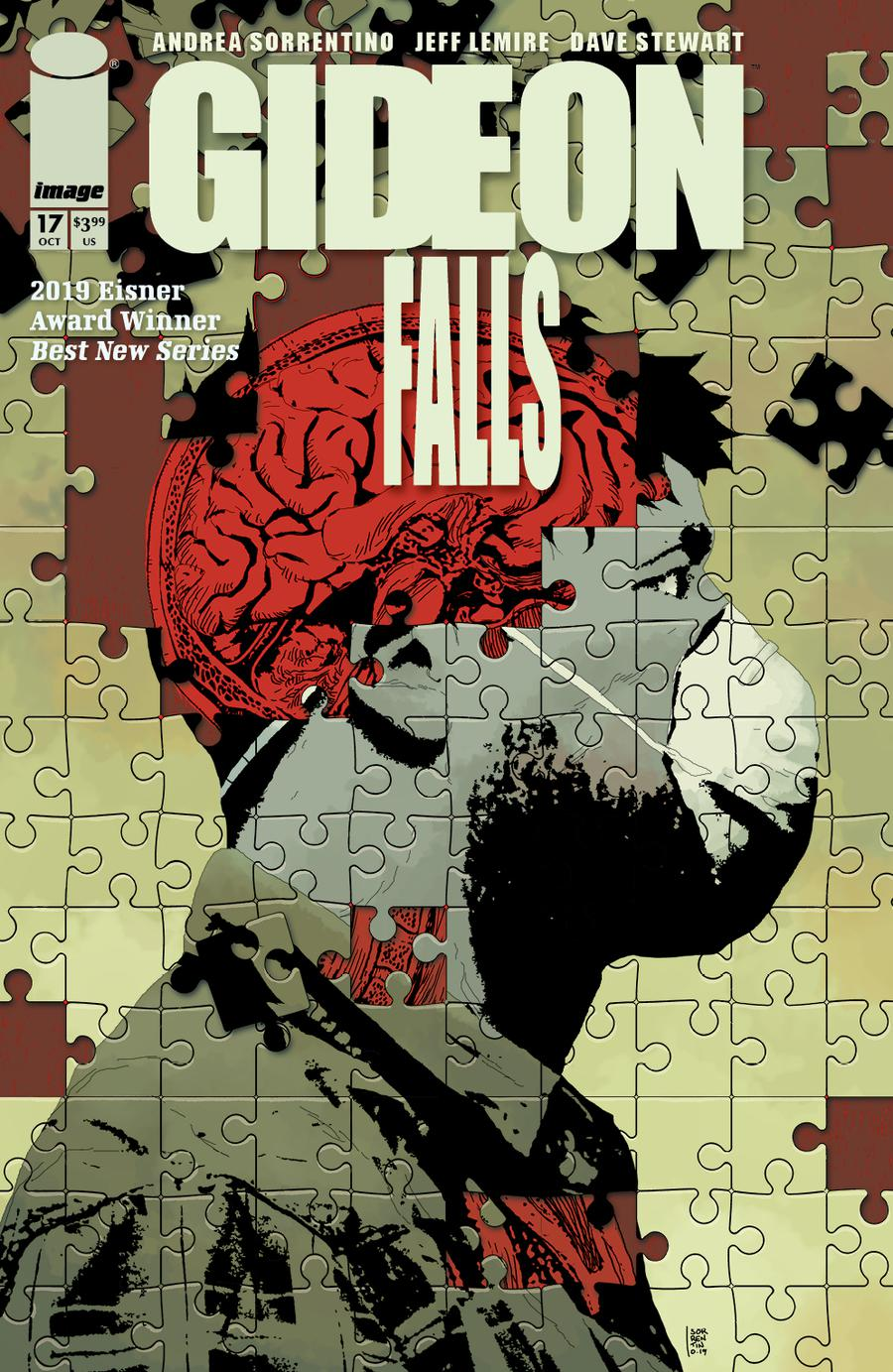 Gideon Falls #17 Cover A Regular Andrea Sorrentino Cover
