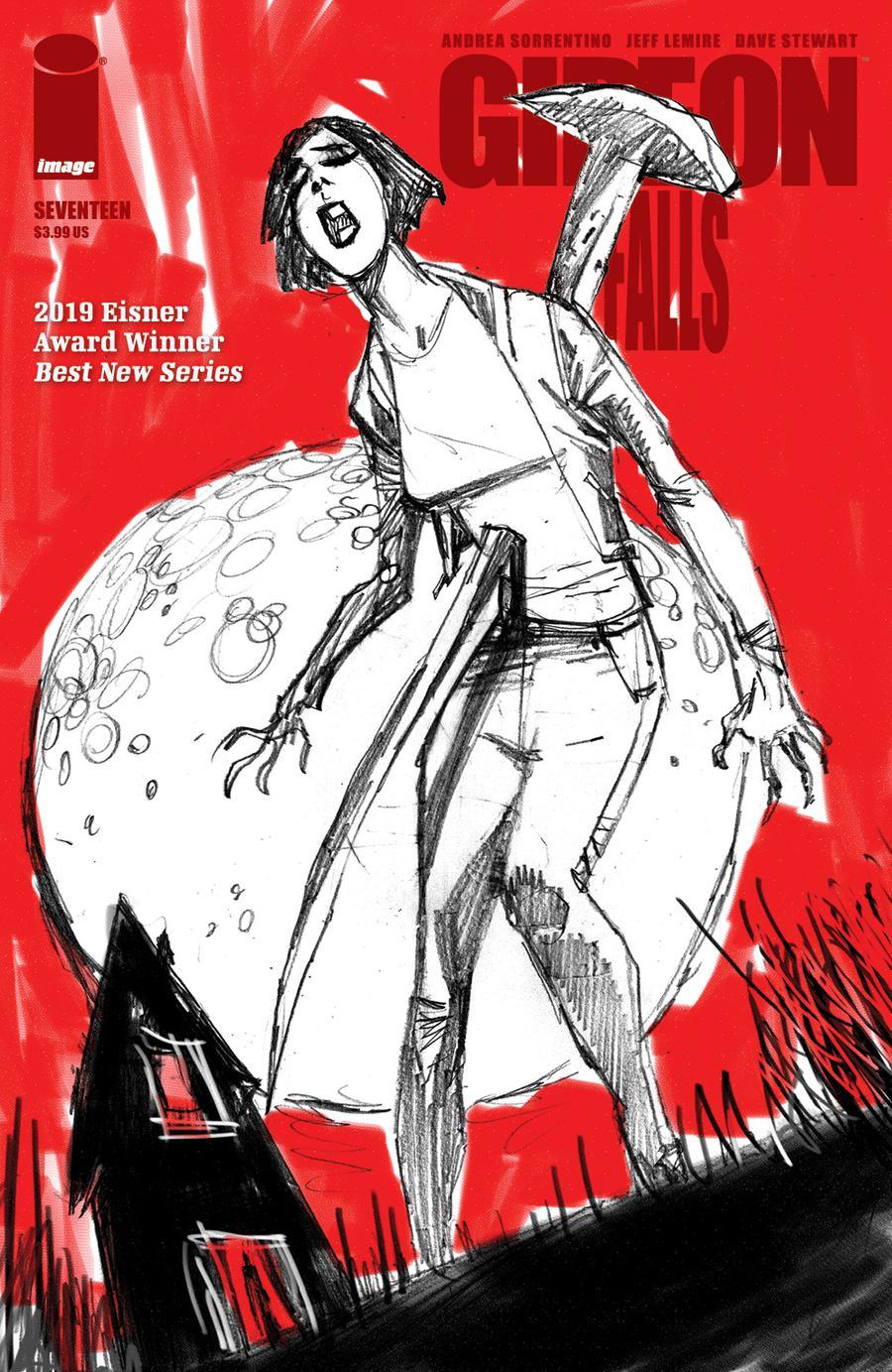 Gideon Falls #17 Cover B Variant John McCrea Cover