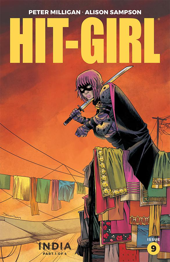 Hit-Girl Vol 2 Season 2 #9 Cover A Regular Declan Shalvey Color Cover