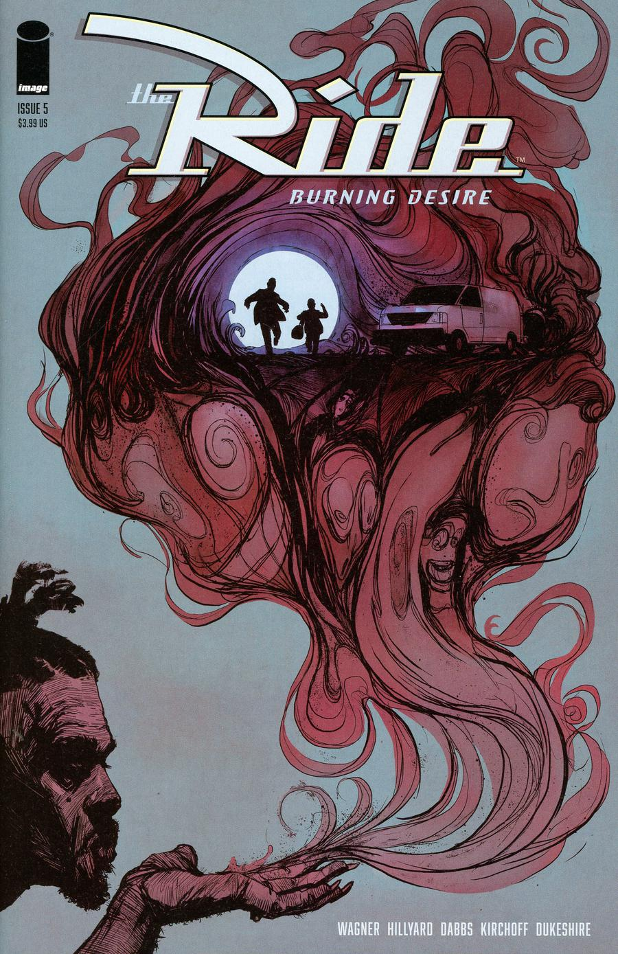 Ride Burning Desire #5 Cover B Variant Doug Dabbs Cover