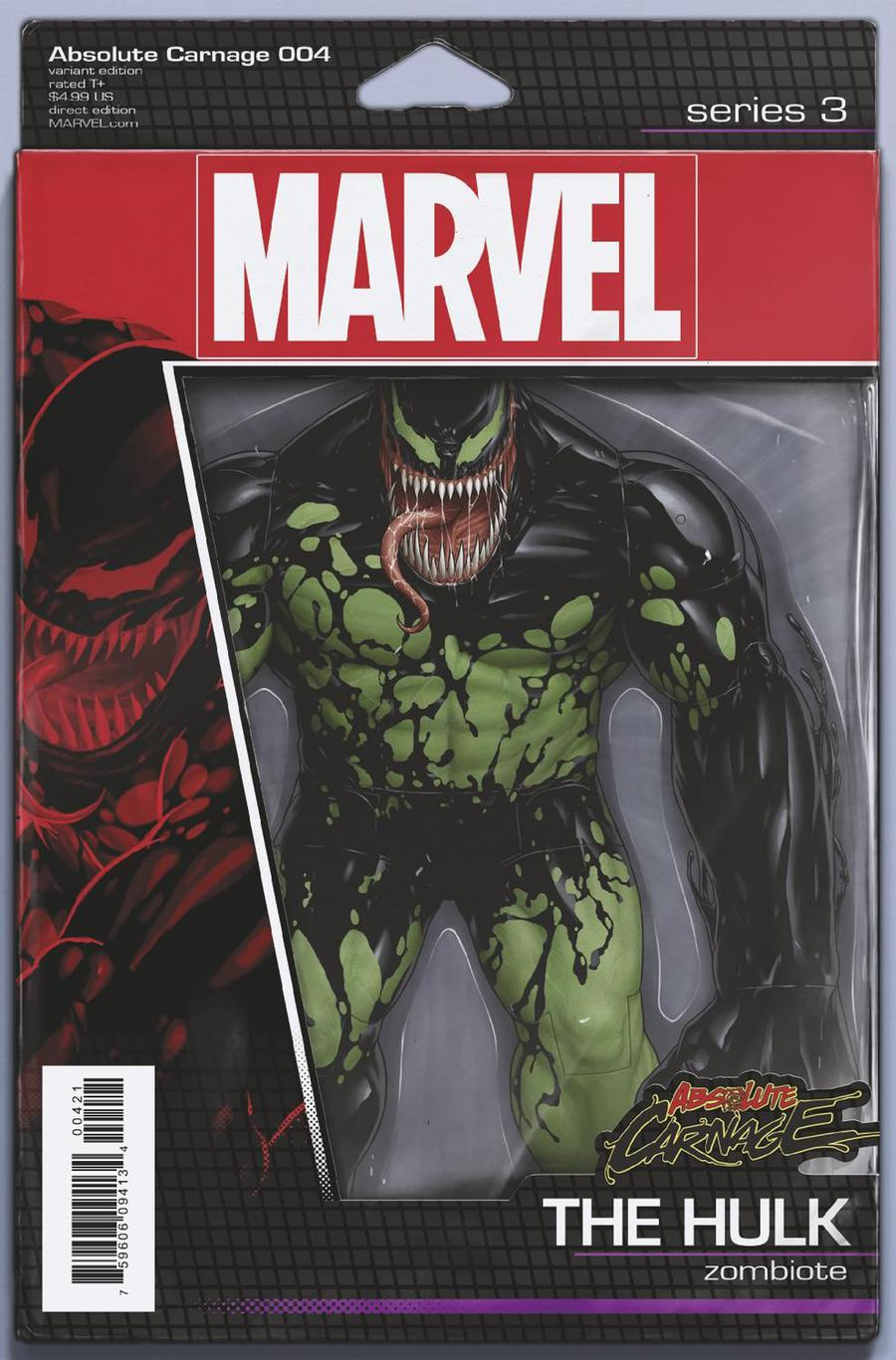 Absolute Carnage #4 Cover B Variant John Tyler Christopher Action Figure Cover