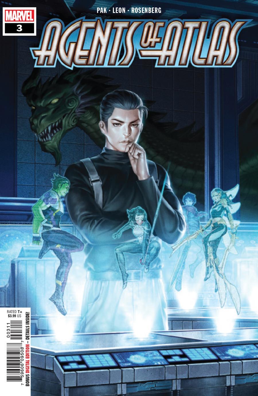 Agents Of Atlas Vol 3 #3 Cover A Regular Junggeun Yoon Cover