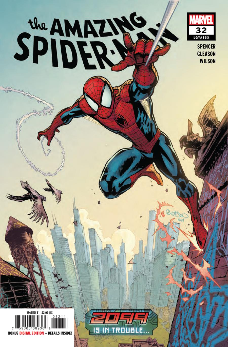 Amazing Spider-Man Vol 5 #32 Cover A Regular Patrick Gleason Cover