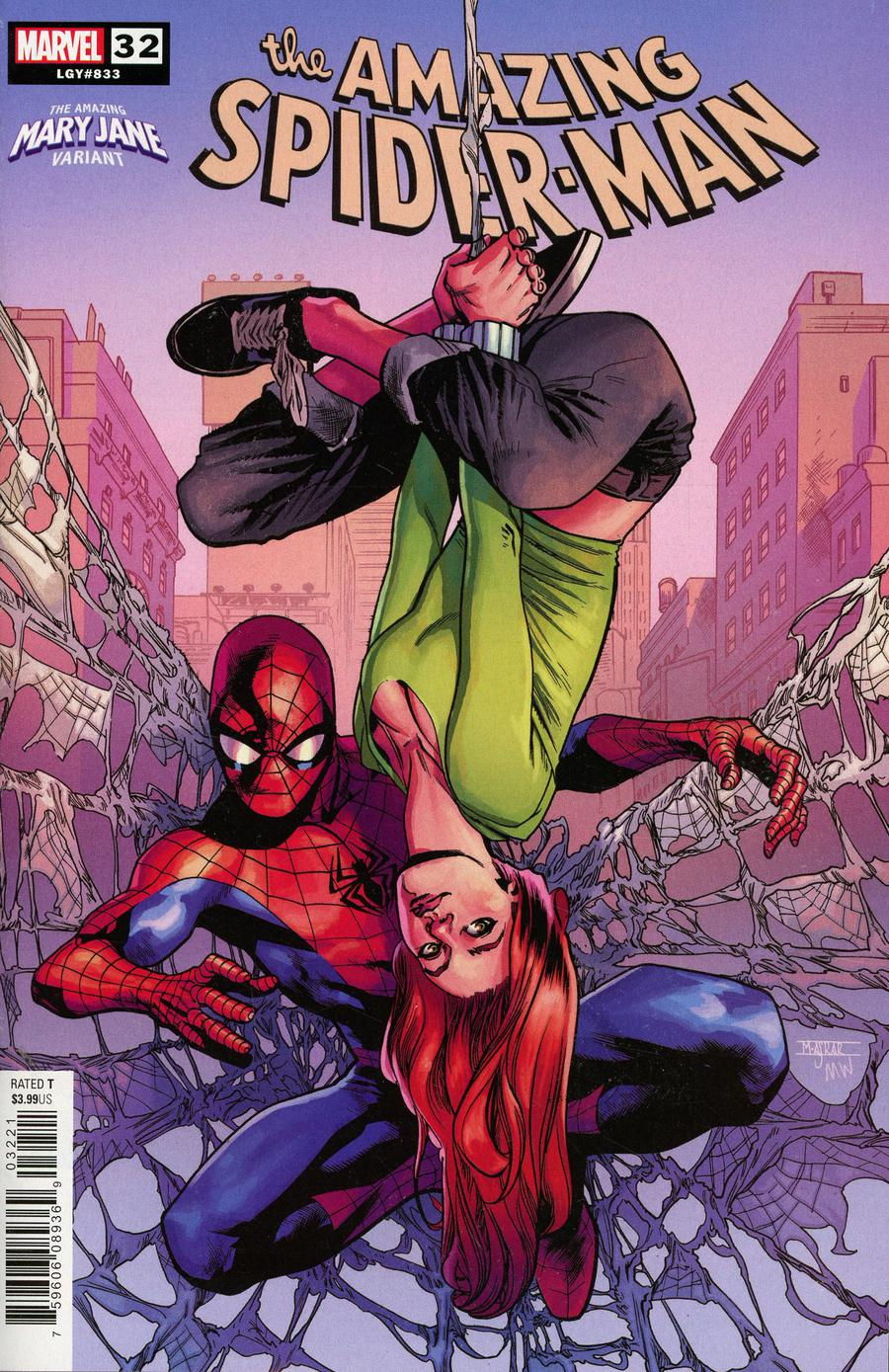 Amazing Spider-Man Vol 5 #32 Cover B Variant Mahmud Asrar Mary Jane Cover