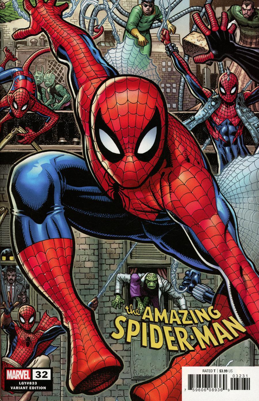 Amazing Spider-Man Vol 5 #32 Cover C Variant Arthur Adams 8-Part Connecting B Cover