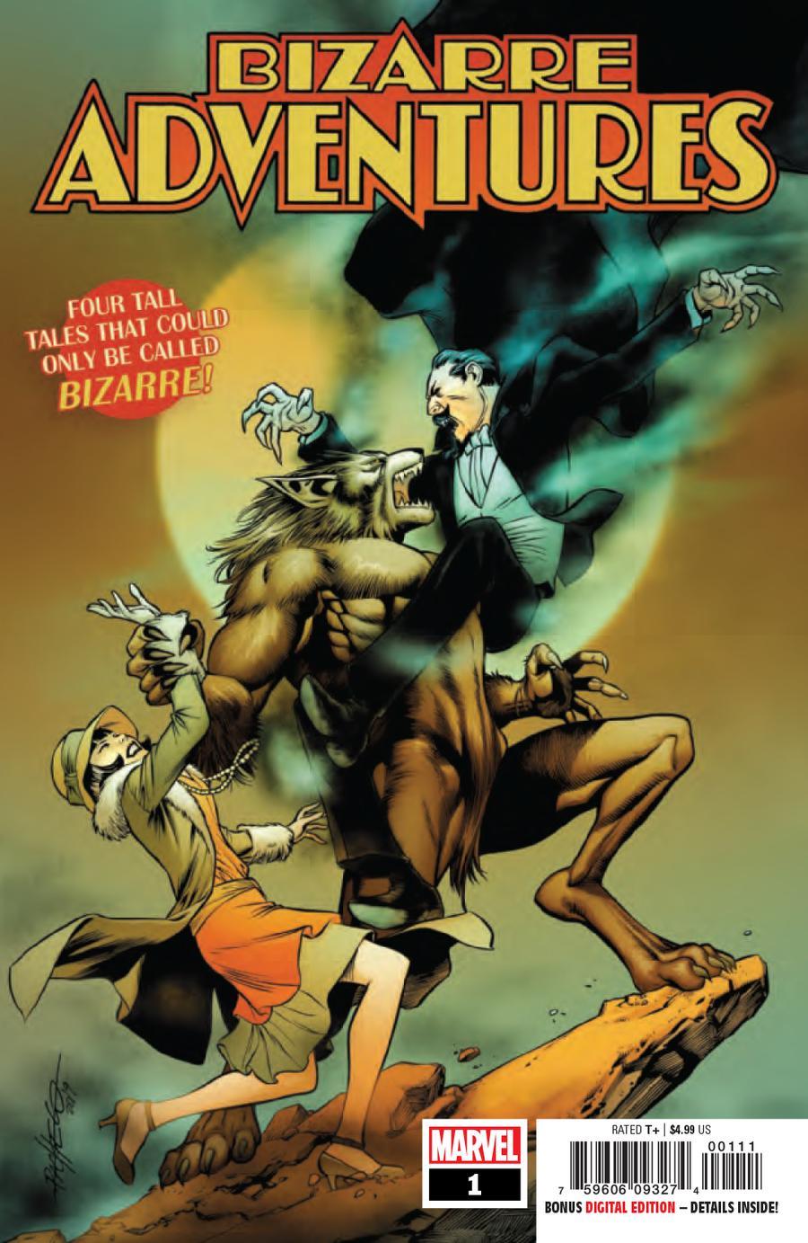 Bizarre Adventures #1 Cover A Regular Carlos Pacheco Cover