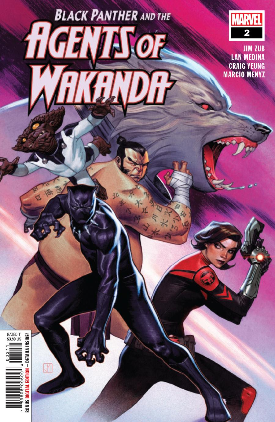 Black Panther And The Agents Of Wakanda #2 Cover A Regular Jorge Molina Cover