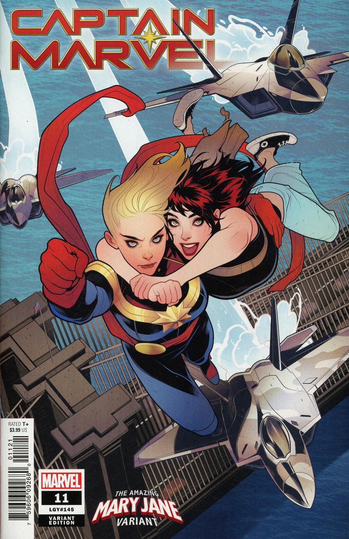 Captain Marvel Vol 9 #11 Cover B Variant Elizabeth Torque Mary Jane Cover