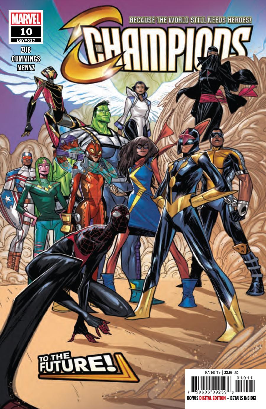 Champions (Marvel) Vol 3 #10