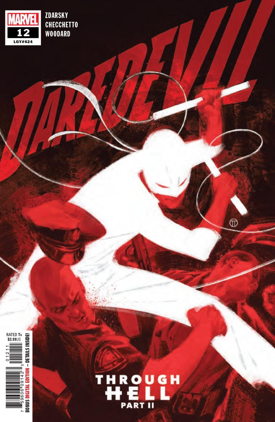 Daredevil Vol 6 #12 Cover A Regular Julian Totino Tedesco Cover
