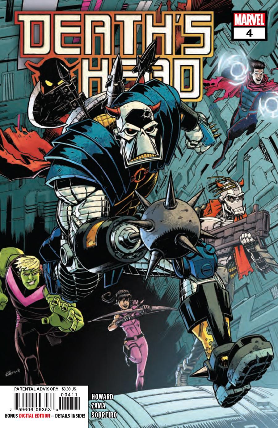 Deaths Head Vol 2 #4 Cover A Regular Nick Roche Cover