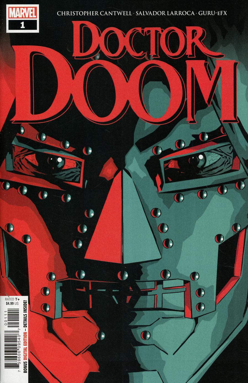 Doctor Doom #1 Cover A 1st Ptg Regular Aco Cover