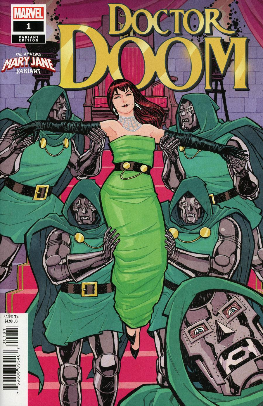 Doctor Doom #1 Cover B Variant Cliff Chiang Mary Jane Cover