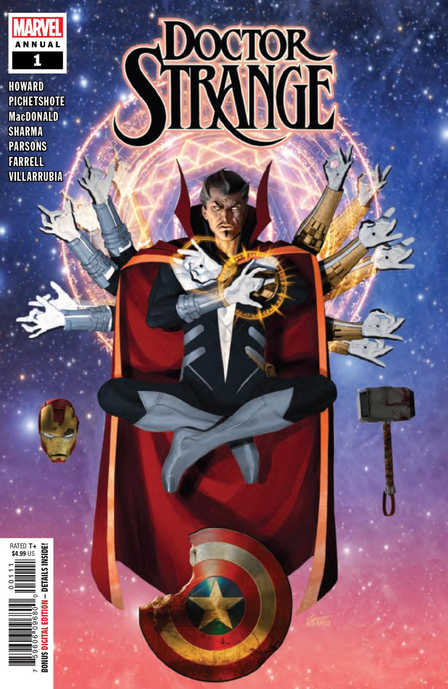 Doctor Strange Vol 5 Annual #1 Cover A Regular Ariel Olivetti Cover