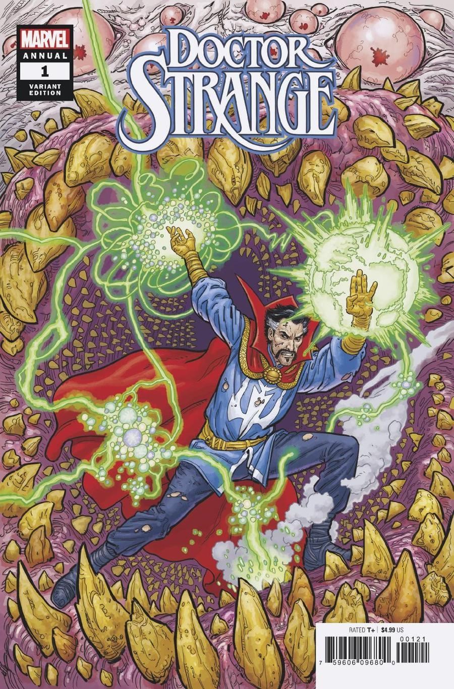 Doctor Strange Vol 5 Annual #1 Cover B Variant Steve Skroce Cover