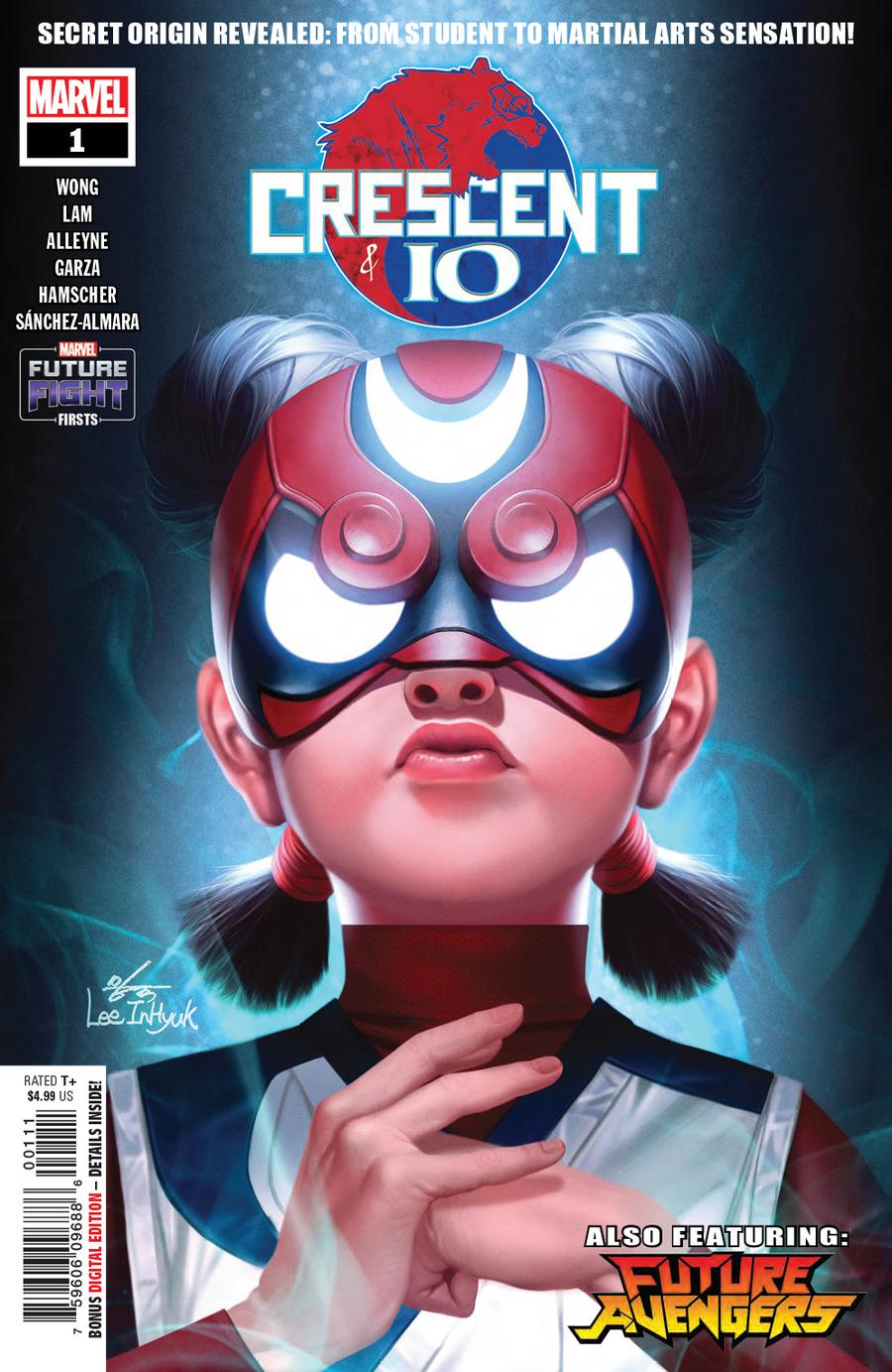 Future Fight Firsts Crescent And Io #1 Cover A Regular Inhyuk Lee Cover