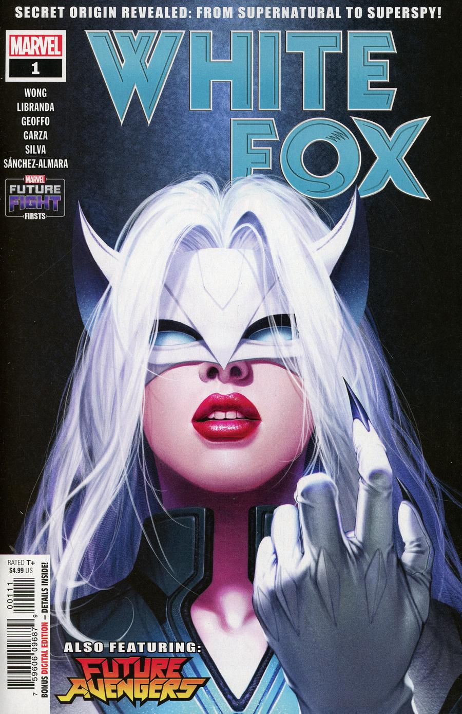 Future Fight Firsts White Fox #1 Cover A Regular Inhyuk Lee Cover