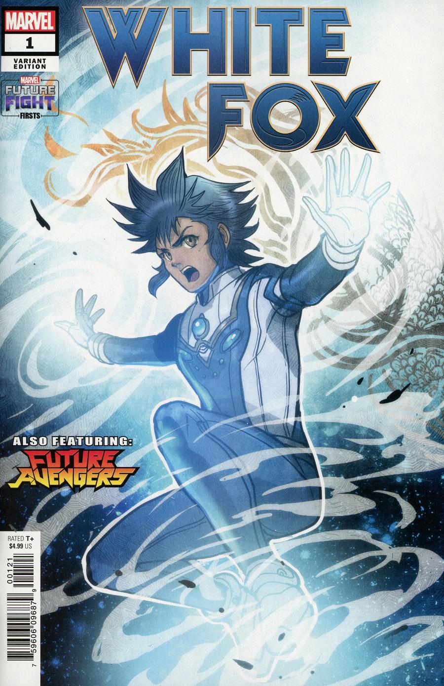 Future Fight Firsts White Fox #1 Cover B Variant Sana Takeda Marvels Future Avengers Cover