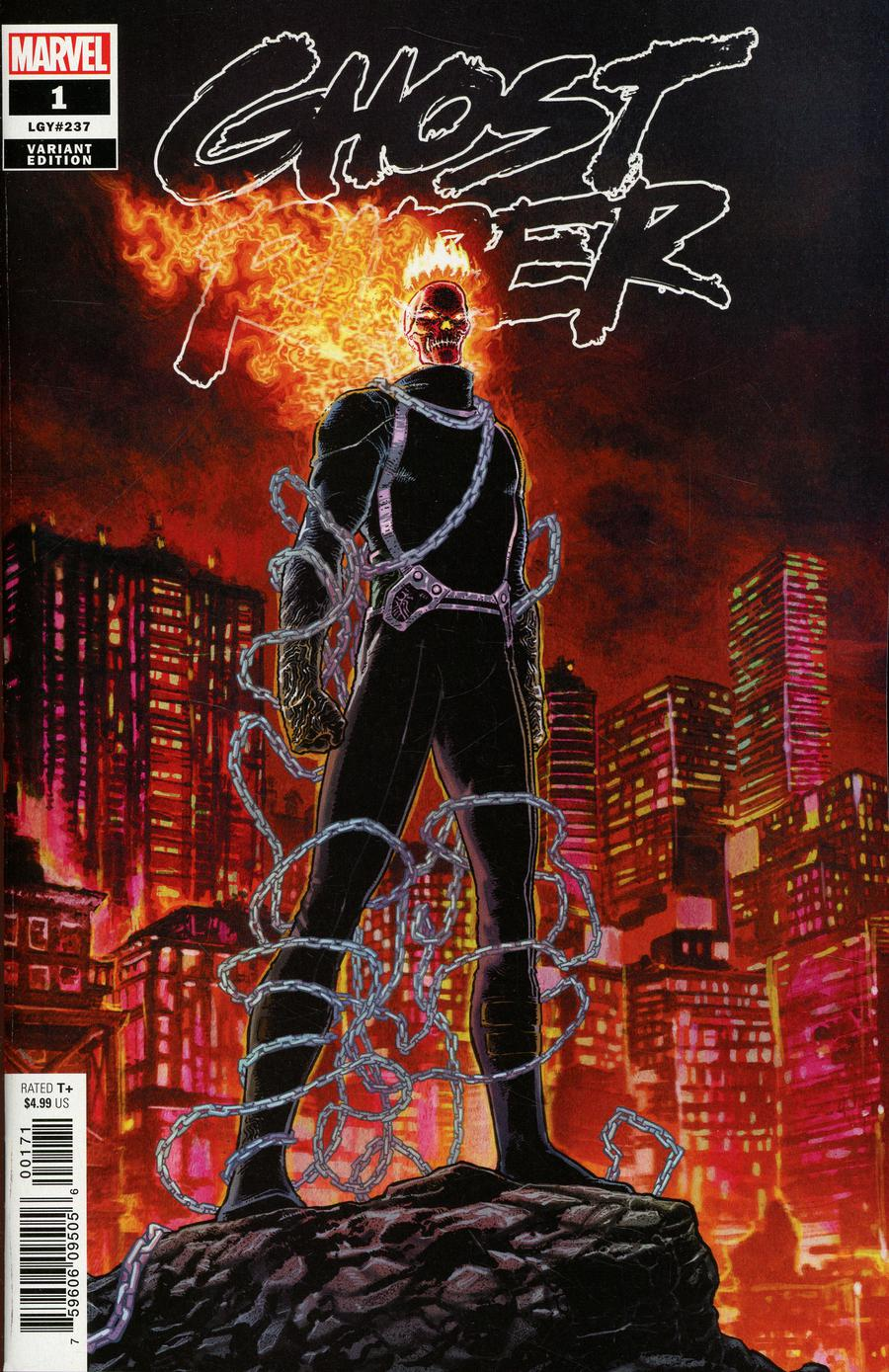 Ghost Rider Vol 8 #1 Cover C Variant Aaron Kuder King Of Hell Cover