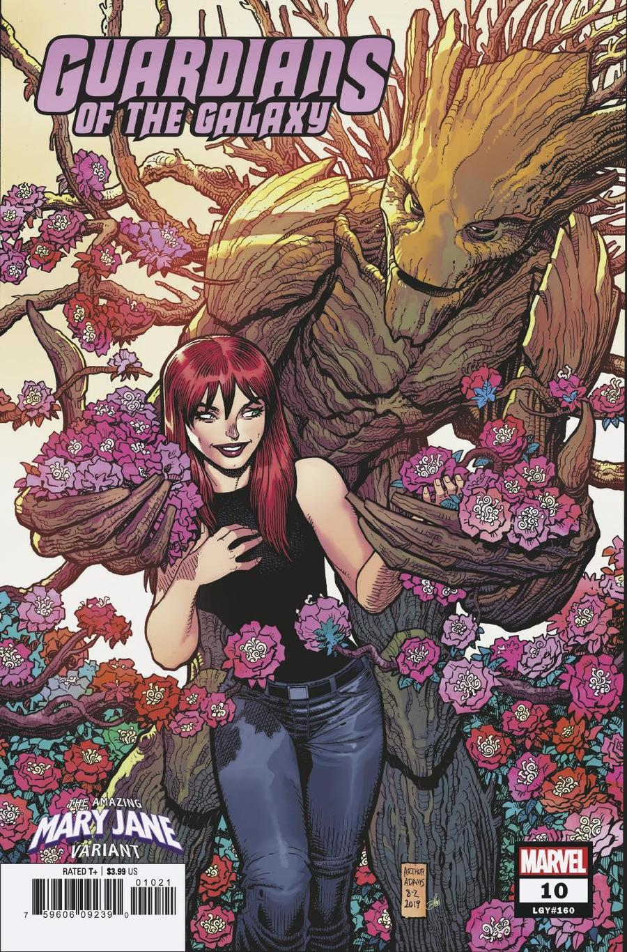 Guardians Of The Galaxy Vol 5 #10 Cover B Variant Arthur Adams Mary Jane Cover