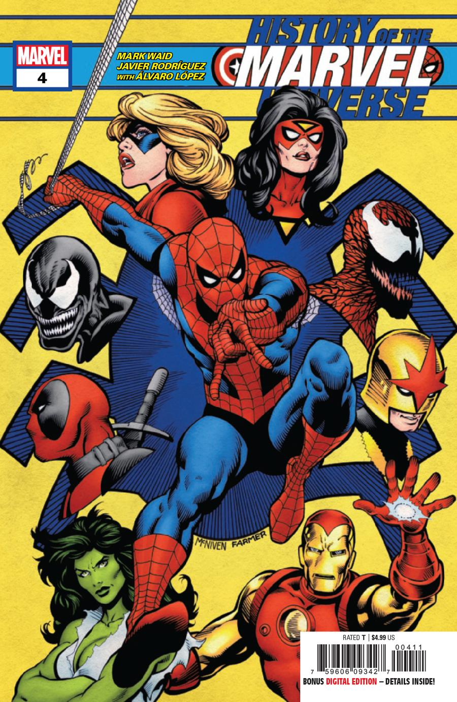 History Of The Marvel Universe #4 Cover A Regular Steve McNiven Cover