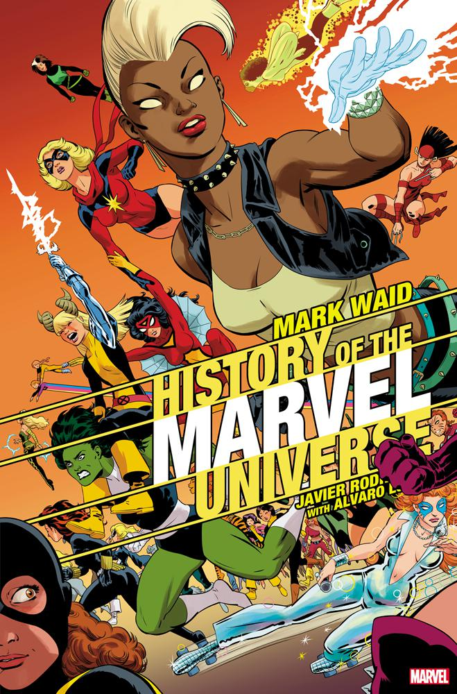 History Of The Marvel Universe #4 Cover B Variant Javier Rodriguez Cover