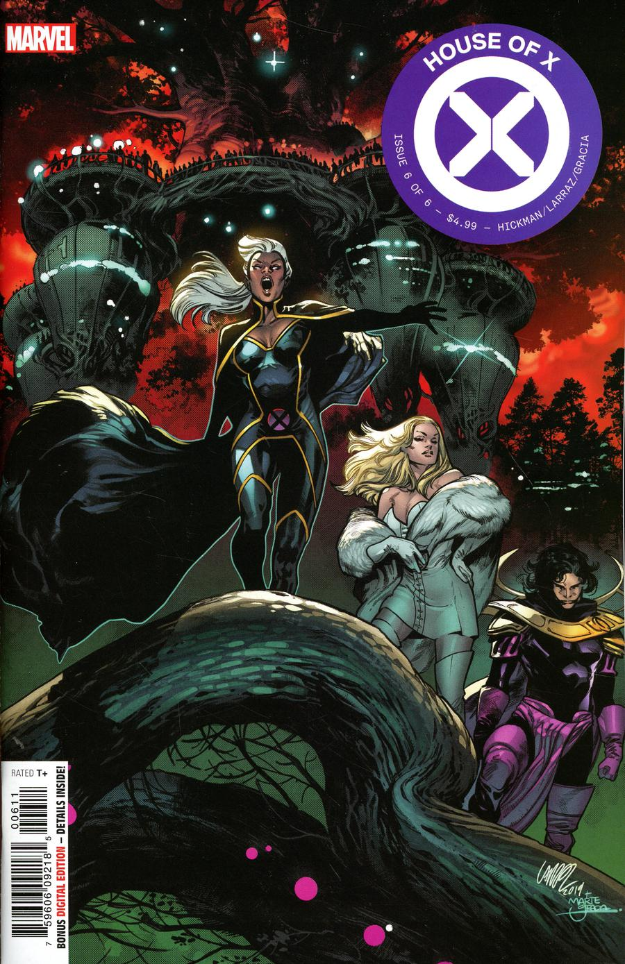 House Of X #6 Cover A 1st Ptg Regular Pepe Larraz Cover